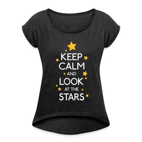 KEEP CALM 15 - Maglietta da donna con risvolti