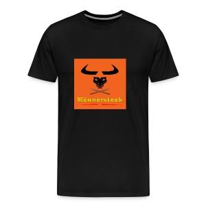 Männersteak T-Shirt  - Männer Premium T-Shirt