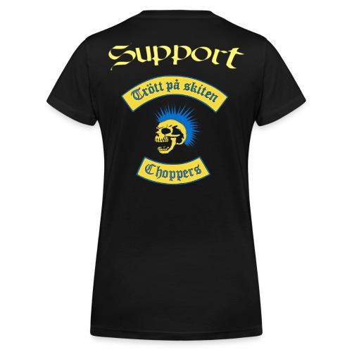 Dam t-shirt  - Ekologisk T-shirt med V-ringning dam från Stanley & Stella