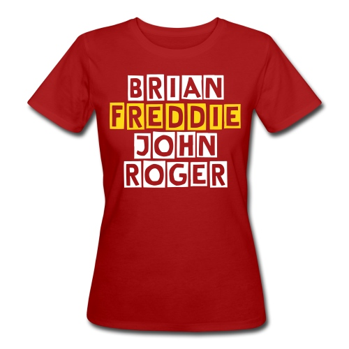 Freddie and Friends - Lady - T-shirt ecologica da donna