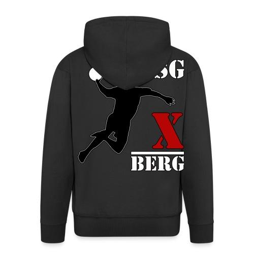 Jacke HSG X Berg - Männer Premium Kapuzenjacke