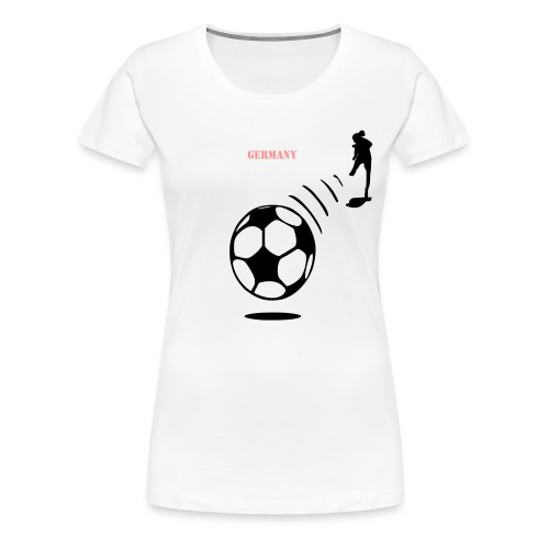Germany Fußball T Shirt 2015 - Frauen Premium T-Shirt
