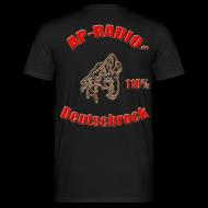 T-Shirts ~ Männer T-Shirt ~ Kleines Logo vorne, Großes Logo hinten