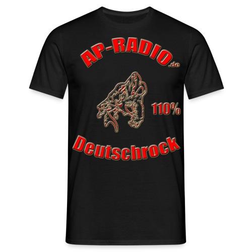 Großes Logo vorne - Männer T-Shirt