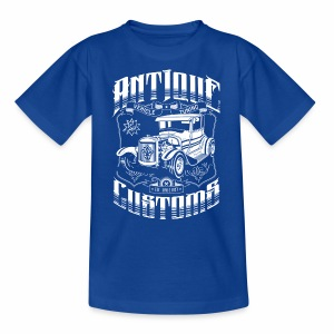 Hot Rod - Antique Customs (white) - Kids' T-Shirt