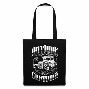 Hot Rod - Antique Customs (white) - Tote Bag