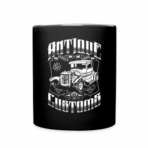 Hot Rod - Antique Customs (white) - Full Colour Mug