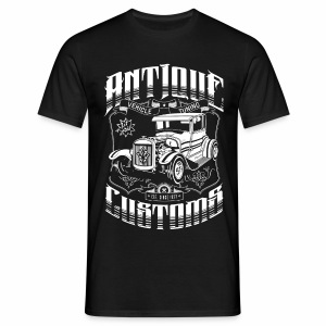 Hot Rod - Antique Customs (white) - Men's T-Shirt
