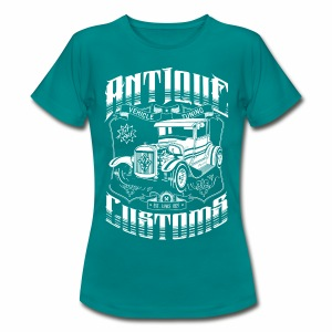 Hot Rod - Antique Customs (white) - Women's T-Shirt