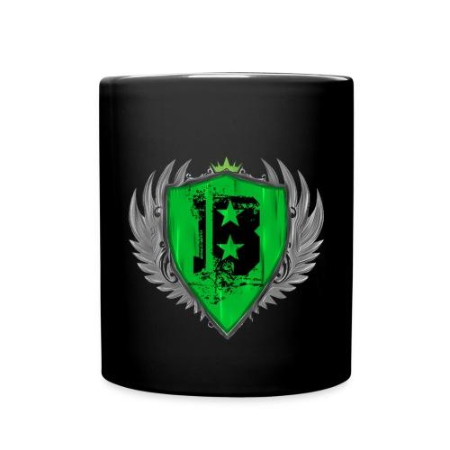 Tasse Schwarz Groß - Tasse einfarbig