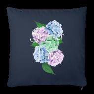 Overig ~ Sierkussenhoes, 44 x 44 cm ~ Summer Time Floral decoration by patjila