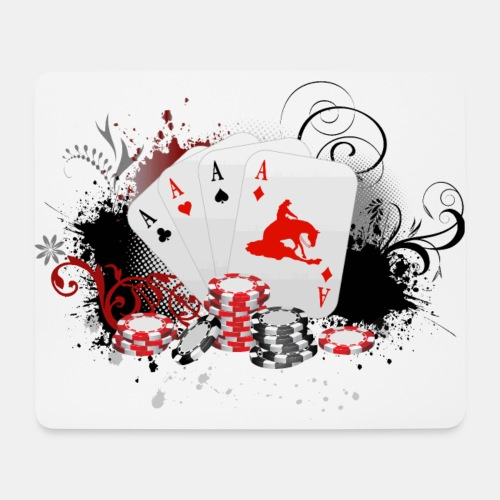 Sonderedition! Reining Poker - Mousepad (Querformat)