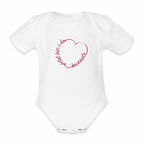 Jetzt bin i do - Baby Bio-Kurzarm-Body