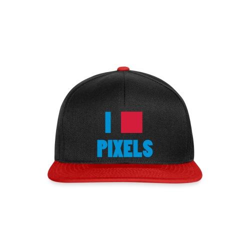 I love pixels  - Snapback-caps