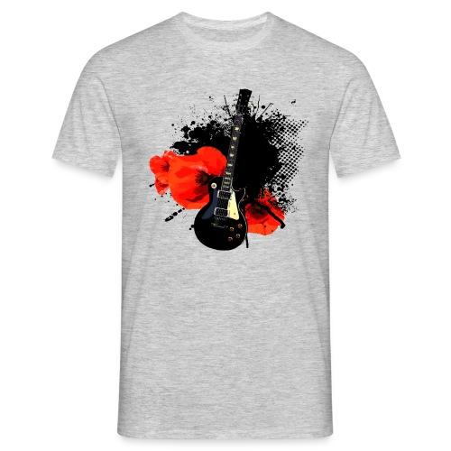 Shirt Trash Polka Ink Guitar - Männer T-Shirt