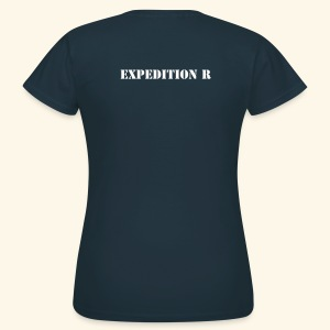 EXPEDITION R - T-Shirt Frauen - Frauen T-Shirt
