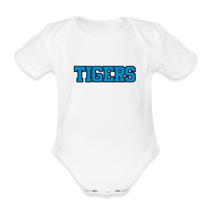 Tigers Uniform Baby - Organic Short-sleeved Baby Bodysuit