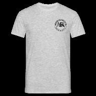 Magliette ~ Maglietta da uomo ~ t-shirt con logo auda e revolver (per capi chiari)