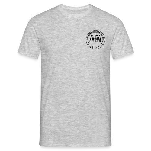 t-shirt con logo auda e revolver (per capi chiari) - Maglietta da uomo