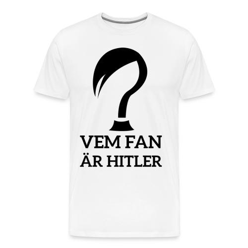 Vem Är Han? (Vit) - Premium-T-shirt herr