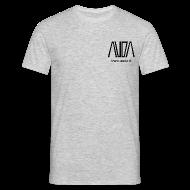 Magliette ~ Maglietta da uomo ~ t-shirt con logo AUDA per colori chiari