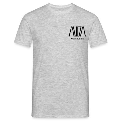 t-shirt con logo AUDA per colori chiari  - Maglietta da uomo