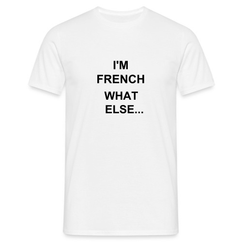 I'm french - T-shirt Homme