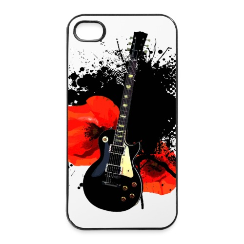 iPhone 4/4S Case Hülle Trash Polka Ink Guitar - iPhone 4/4s Hard Case