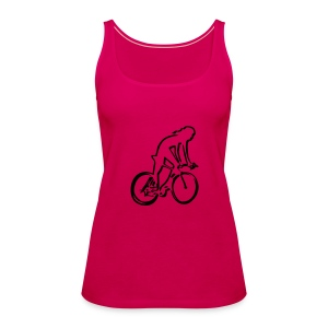 cycling woman Tops - Women's Premium Tank Top