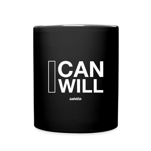 I can I will Mug - Full Colour Mug