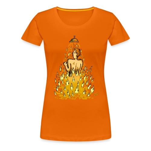 Feuerdusche (Frauen) - Frauen Premium T-Shirt