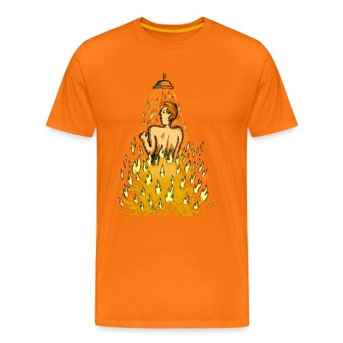 Feuerdusche (Männer) - Männer Premium T-Shirt