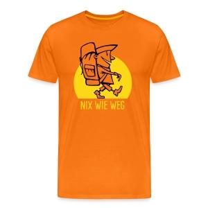 VL110A_Backpacker_2c T-Shirts - Männer Premium T-Shirt