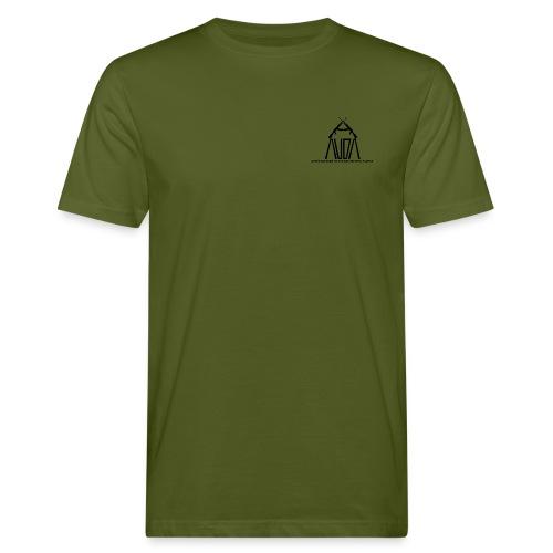 t-shirt ecologica da uomo con logo AUDA e AK47 (per capi chiari) - T-shirt ecologica da uomo