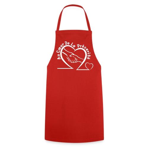 Tablier Logo Blanc - Tablier de cuisine