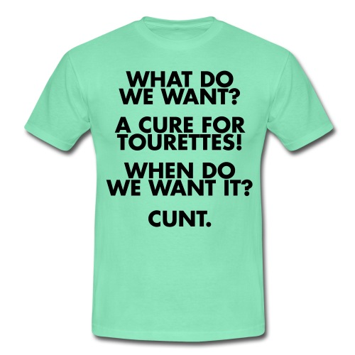 Tourettes Men's T-shirt - Men's T-Shirt