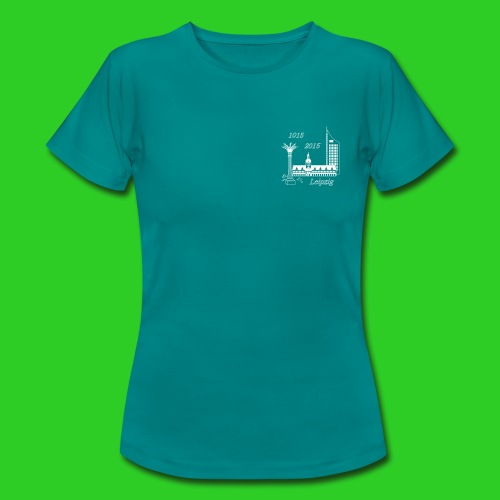 1000 Jahre Leipzig, T-Shirt women - Frauen T-Shirt