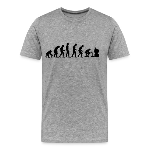 Evolution of Gamers Men's T-shirt - Men's Premium T-Shirt