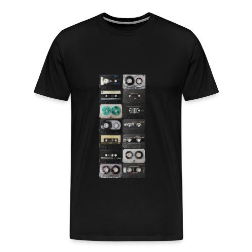 Vintage Cassette T-Shirts - Men's Premium T-Shirt