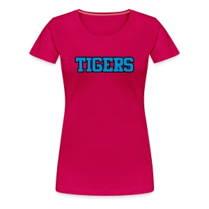 Tigers Uniform Tee - Women's Premium T-Shirt