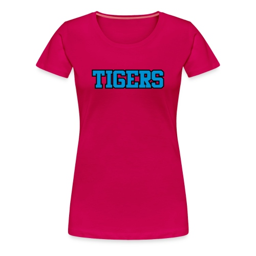 Tigers Uniform Tee - Women's Premium T-Shirt