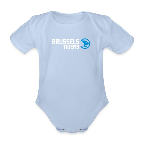 Tigers Logo Baby - Organic Short-sleeved Baby Bodysuit