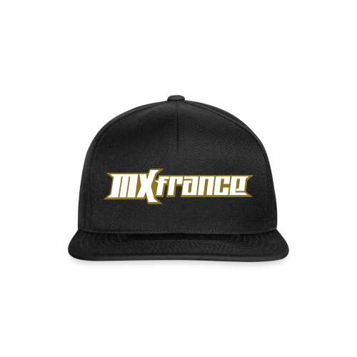 Casquete Snapback MXfrance Blanc/OR - Casquette snapback