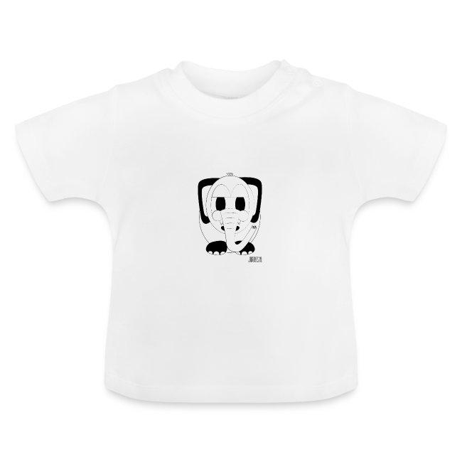 Baby-shirt Okke