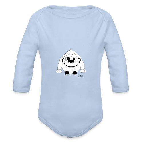 Romper-Pelle - Baby bio-rompertje met lange mouwen
