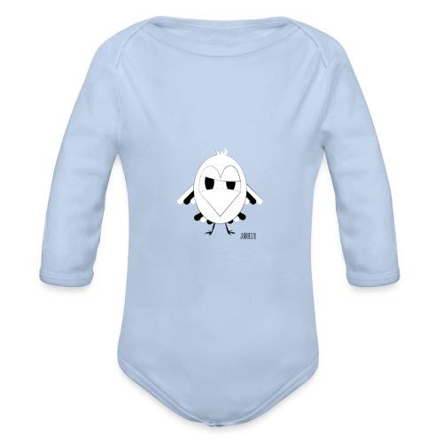 Romper-Veerre - Baby bio-rompertje met lange mouwen