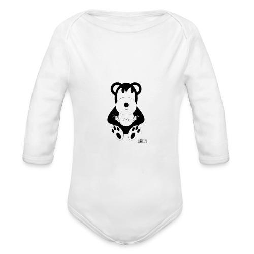 Romper-Smeerre - Baby bio-rompertje met lange mouwen