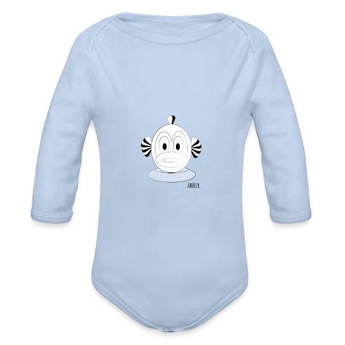 Romper-Finne - Baby bio-rompertje met lange mouwen