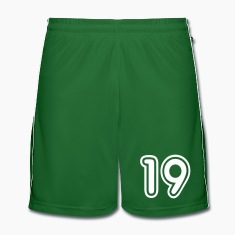 Green College Numers, College Zahlen, Nummern, 19 Trousers & Shorts