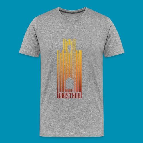 Oristano Barcode Uomo - Maglietta Premium da uomo